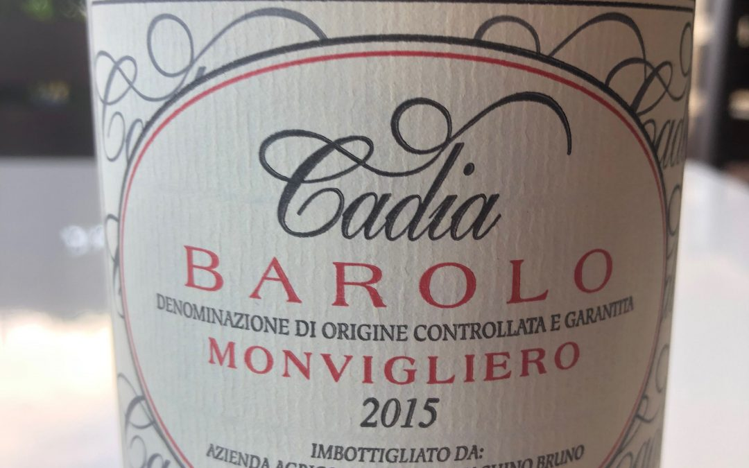 Bello Wine Video with Master of Wine Peter Koff: Cadia Barolo Monvigliero